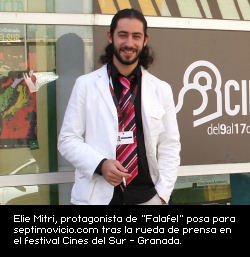 Elie Mitri posa para septimovicio.com